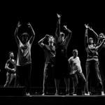 The Pericles Ensemble rehearsing Jennifer Jackson's choreography for the shipwreck
